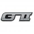 Znak GTI Chrom samolepiaci 3D
